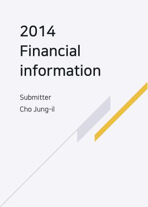 2014재무정보